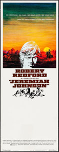 "Movie Posters:Western, Jeremiah Johnson (Warner Brothers, 1972). Insert (14"" X 36"").Western.. ..."