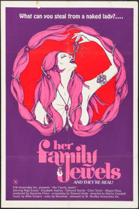 """The Sex Thief (Shuffley, 1974). Poster (30"""" X 40""""). Adult. USA X-Rated Title: Her Family Jewels"""