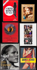 "Movie Posters:James Bond, Bond Girls Book Lot (Various, 1965-2003). Hardcover and PaperbackBooks (5) (Multiple Pages, 7.25"" X 9.75"" -10.5"" X 14.5"") A...(Total: 6 Items)"
