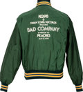 Music Memorabilia:Memorabilia, Bad Company Promo Event Tour Jacket, 1979....