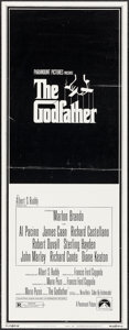 "Movie Posters:Crime, The Godfather (Paramount, 1972). Insert (14"" X 36""). Crime.. ..."