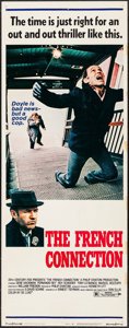 "Movie Posters:Action, The French Connection (20th Century Fox, 1971). Insert (14"" X 36"").Action.. ..."
