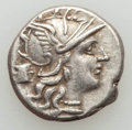 Ancients:Ancient Lots , Ancients: ANCIENT LOTS. Roman Republican. Lot of two (2) ARdenarii. VF.... (Total: 2 coins)