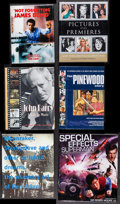 """Movie Posters:James Bond, James Bond Lot (Various, 1998-2008). Autographed Hardcover Books (3) (Multiple Pages, 7.5"""" X 10"""" - 10.25"""" X 11.5), Hardcover... (Total: 6 Items)"""