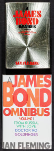 "Movie Posters:James Bond, James Bond Omnibus Book Lot (Various, 1973/1997). Hardcover Books(2) (Multiple Pages, 5.25"" X 7.5"" X 1.5"" & 6"" X 8.5"" X 2"")...(Total: 2 Items)"