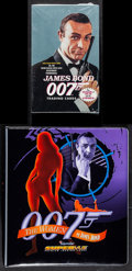 "Movie Posters:James Bond, James Bond Trading Card Lot (Eclipse, 1993). Sealed Trading CardBox (5.5"" X 9"" X 1.75"") & Binder (10.5"" X 11.5""). James Bon...(Total: 2 Items)"