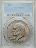 Eisenhower Dollars, 1978 $1 MS66+ PCGS. PCGS Population: (477/6 and 32/0+). NGC Census: (221/5 and 0/0+). CDN: $65 Whsle. Bid for problem-free ...