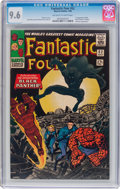 Silver Age (1956-1969):Superhero, Fantastic Four #52 (Marvel, 1966) CGC NM+ 9.6 Off-white to whitepages....