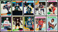 Hockey Cards:Sets, 1975-76, 1978-79, 1980-81 Topps Hockey Complete Sets (3). . ...