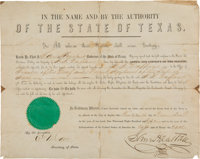 Sam Houston Appointment Signed