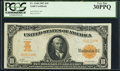 Large Size:Gold Certificates, Fr. 1168 $10 1907 Gold Certificate PCGS Very Fine 30PPQ.. ...