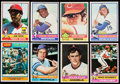 Baseball Cards:Lots, 1976 Topps Baseball Stars and HoFers Collection (83).. ...