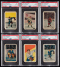 Hockey Cards:Lots, 1952 Parkhurst Stars & HoFers Collection (15) With GeorgeArmstrong. ...