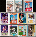 Baseball Cards:Lots, 1970-1990 Baseball Stars And HoFers Collection (200+) Plus One 1987Topps Unopened Rack Pack.. ...