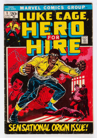 Hero for Hire #1 (Marvel, 1972) Condition: GD