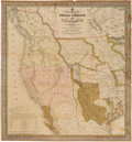 Books:Maps & Atlases, S[amuel] Augustus Mitchell. A New Map of Texas, Oregon andCalifornia, with the Regions Adjoining....