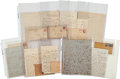 Autographs, John W. Stayton Group of Letters....