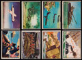 "Non-Sport Cards:Lots, 1953 Bowman ""U.S. Navy Victories"" and 1954 Bowman ""Power For Peace"" Collection (44).. ..."