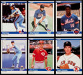 Baseball Cards:Sets, 1984 Fleer Update Baseball Complete Set (132). . ...