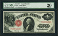 Large Size:Legal Tender Notes, Fr. 37 $1 1917 Legal Tender PMG Very Fine 20.. ...