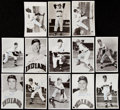 Autographs:Post Cards, 1950s-60s Cleveland Indians Signed Postcard Lot of 26. ...