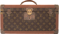 """Louis Vuitton Classic Monogram Coated Canvas Makeup Trunk Condition: 3 16"""" Width x 8"""" Height x 9"""" Depth&a..."""