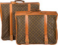 """Luxury Accessories:Travel/Trunks, Louis Vuitton Set of Two; Classic Monogram Canvas Suitcases.Condition: 4. 22"""" Width x 22"""" Height x 10"""" Depth"""
