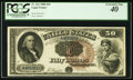 Large Size:Legal Tender Notes, Fr. 161 $50 1880 Legal Tender PCGS Extremely Fine 40.