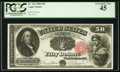 Large Size:Legal Tender Notes, Fr. 162 $50 1880 Legal Tender PCGS Extremely Fine 45.. ...
