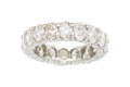 Estate Jewelry:Rings, Diamond, Platinum Eternity Band . ...