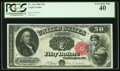Large Size:Legal Tender Notes, Fr. 164 $50 1880 Legal Tender PCGS Extremely Fine 40.. ...
