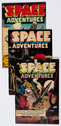 Golden Age (1938-1955):Science Fiction, Space Adventures #5-8 Group (Charlton, 1952-53) Condition: AverageVG/FN.... (Total: 4 Comic Books)