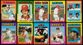 Baseball Cards:Lots, 1975 Topps Baseball Stars and HoFers Collection (55).. ...