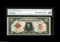 Large Size:Legal Tender Notes, Fr. 123 $10 1923 Legal Tender CGA Gem Uncirculated 67. This note isfrom the final pack of 100, which has supplied the hobby...