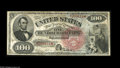 Large Size:Legal Tender Notes, Fr. 168 $100 1869 Legal Tender Very Fine, Restored. This extremelyrare type has had a number of very well done minor restor...