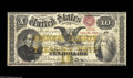 Large Size:Compound Interest Treasury Notes, Fr. 190 $10 1863 Compound Interest Treasury Note Choice Very Fine.This is the rarest of the Ten Dollar Compound Interest Tr...