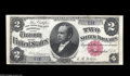 Large Size:Silver Certificates, Fr. 245 $2 1891 Silver Certificate Choice Extremely Fine. We firstbrought this note to the market in our January, 1998 sale...