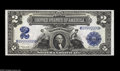 Large Size:Silver Certificates, Fr. 256 $2 1899 Silver Certificates Serial Numbers M99999999 andM100000000 Gem New. We have sold these notes separately in ... (2notes)