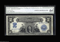 Large Size:Gold Certificates, Fr. 1195 $50 1882 Gold Certificate Fine. Only about 50 examples areknown of this note in all grades combined. This one, whi...