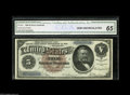 Large Size:Silver Certificates, Fr. 263 $5 1886 Silver Certificate CGA Gem Uncirculated 65. Fr. 263is the basic Silver Dollar Back Type Note, and this one ...
