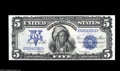 Large Size:Silver Certificates, Fr. 275 $5 1899 Silver Certificate Gem New. A very handsome Chief, with broad margins and ideal color. The corners are perfe...