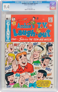 Archie's TV Laugh Out #1 Curator Pedigree (Archie, 1969) CGC NM 9.4 White pages