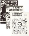 Magazines:Fanzine, Rocket's Blast Comicollector Group of 75 (G. B. Love) Condition: Average VF.... (Total: 75 Items)