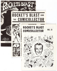 Rocket's Blast Comicollector Group of 75 (G. B. Love) Condition: Average VF.... (Total: 75 Items)