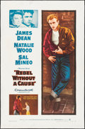 """Movie Posters:Drama, Rebel Without a Cause (Warner Brothers, R-1957). One Sheet (27"""" X41""""). Drama.. ..."""
