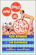 """Movie Posters:Rock and Roll, Beach Ball (Paramount, 1965). One Sheet (27"""" X 41""""). Rock andRoll.. ..."""