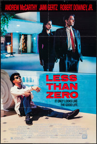 "Less Than Zero & Other Lot (20th Century Fox, 1987). Folded, Fine/Very Fine. One Sheets (3) (27"" X 40""..."