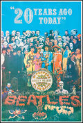 "Movie Posters:Rock and Roll, The Beatles: Sgt. Pepper's Lonely Hearts Club Band (1987).Commercial Anniversary Poster (41"" X 61""). Rock and Roll.. ..."