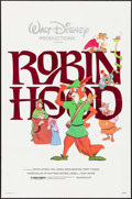 "Movie Posters:Animation, Robin Hood & Other Lot (Buena Vista, R-1982). One Sheets (2) (27"" X 41""). Animation.. ... (Total: 2 Items)"