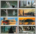 "Movie Posters:Science Fiction, The Empire Strikes Back Portfolio (Ballantine Books, 1980). RalphMcQuarrie Art Portfolio Print Set of 24 (10"" X 21""). Scien...(Total: 24 Items)"